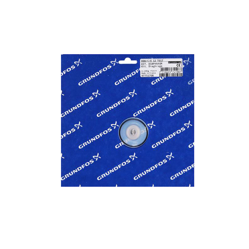 GRUNDFOS Kit, Diaphragm SD-M 97751708