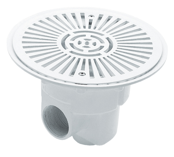 Astral Circular main drain Ø 270 mm with grille in ABS