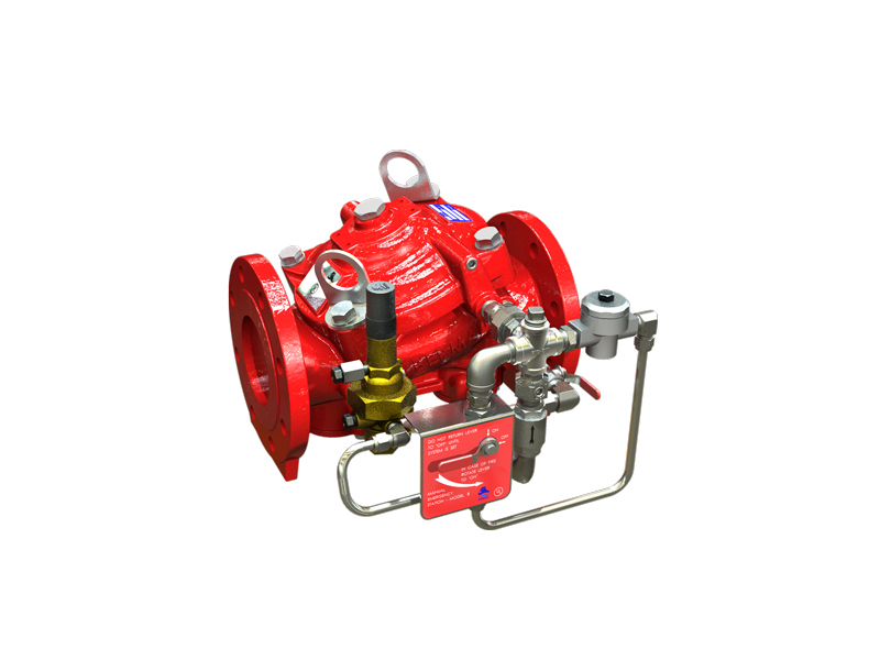 BERMAD Flow Control, Hydraulically Operated Pressure Differential Control Valve (PDCV) FP 400Y-C-06