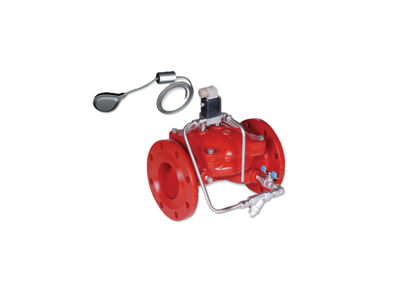 BERMAD Level Control Valve with Bi-Level Electric Float FP 450-65